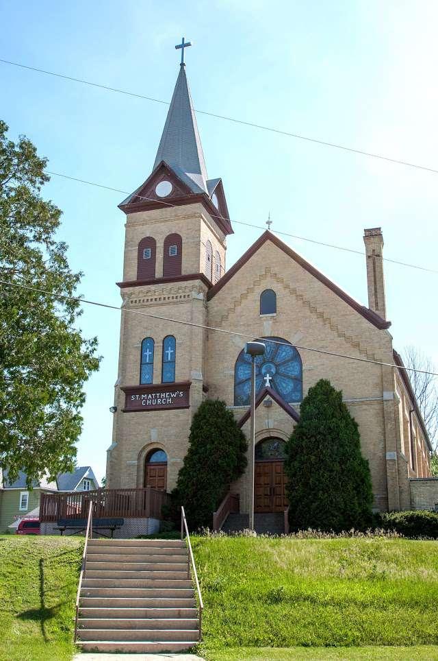 St Matthew S Catholic Church In Neosho Wi