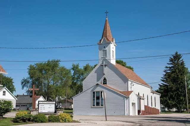 St Paul Lutheran Church Church In Neosho Wi